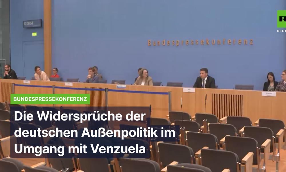 """Bundesregierung verstrickt sich in Widersprüche bei """"regelbasierter"""" Haltung gegenüber Venezuela"""