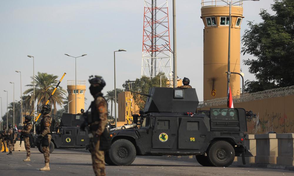 Wegen anhaltender Angriffe: USA drohen mit Schließung ihrer Botschaft im Irak