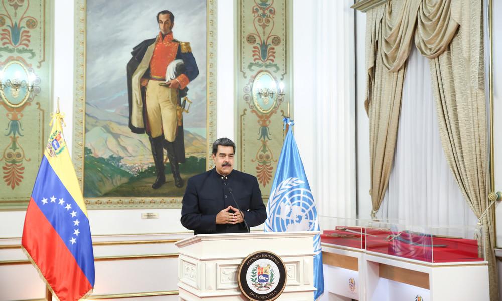 Venezuela kündigt militärische Zusammenarbeit mit Russland, China und Iran an
