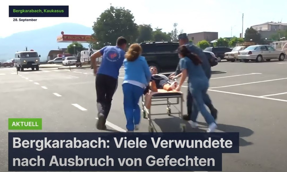 Bergkarabach: Viele Verwundete nach Ausbruch von Gefechten