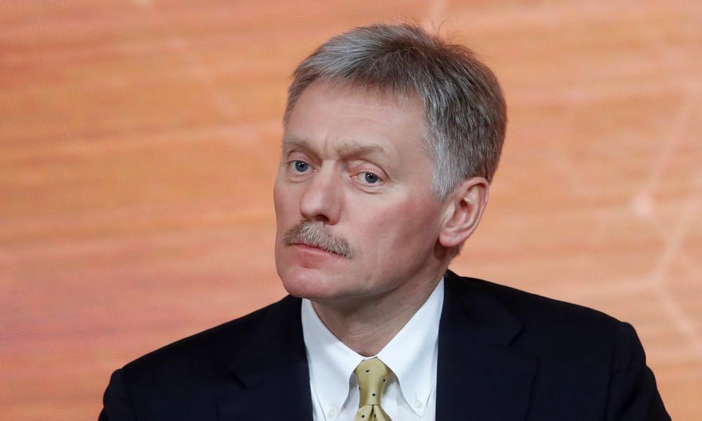 """Dmitri Peskow zu Merkels Besuch bei Nawalny: """"Offenbar Unterstützungsbekundung und Genesungswünsche"""""""
