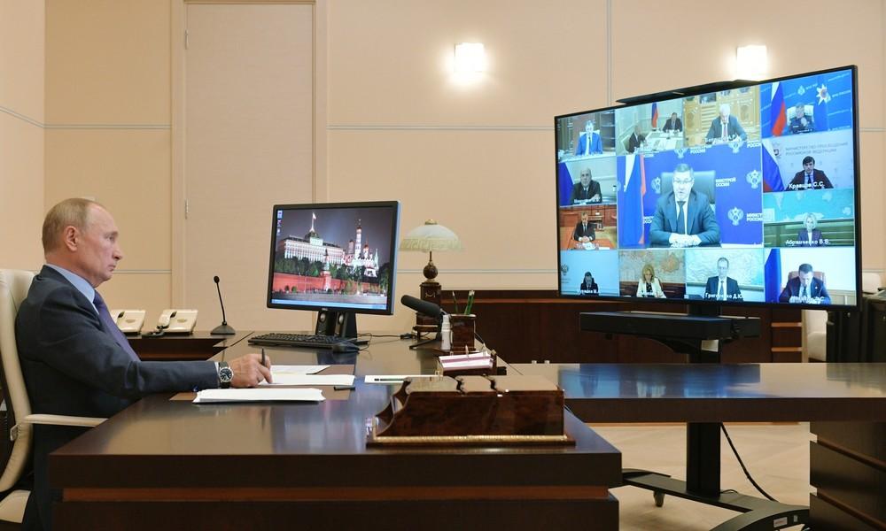 "Wladimir Putin fordert ""nicht lästige"" Maßnahmen im Kampf gegen COVID-19"