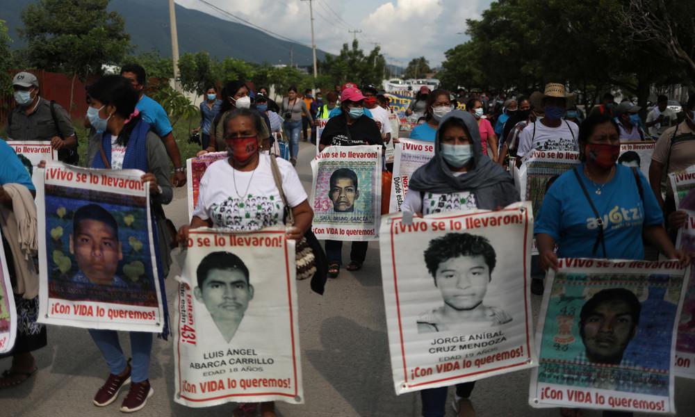 Mexikos Behörden gestehen ein: Verschwinden von 43 Studenten war ein Staatsverbrechen