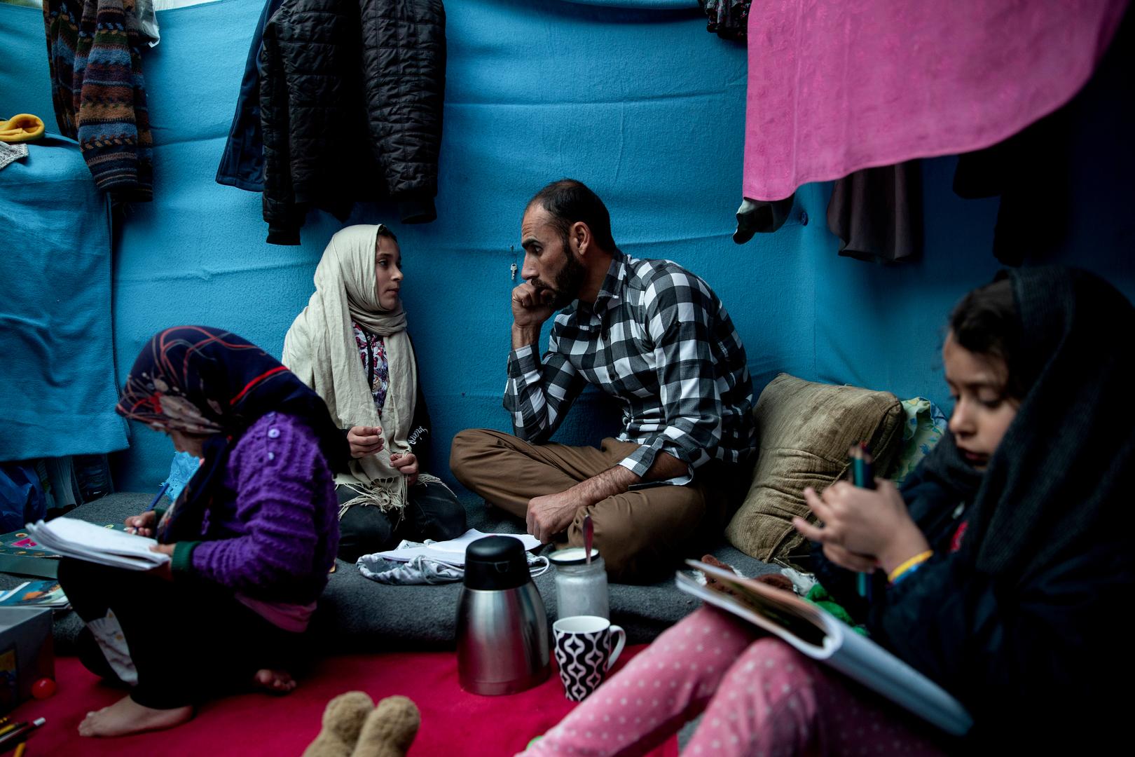 Für den afghanischen Schauspieler, der zum Flüchtling wurde, ist das Überleben die schwierigste Rolle. 16. Februar 2020.