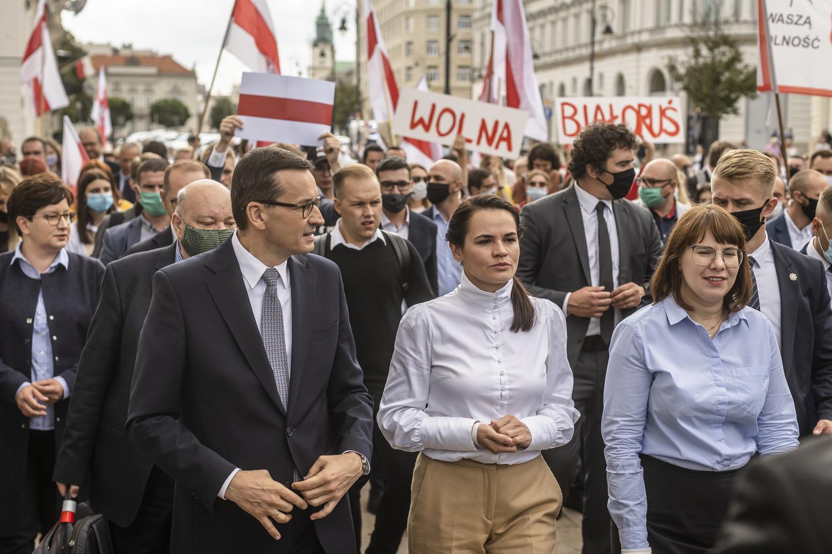 Diplomatisches Frühstück mit Lukaschenko-Gegnerin in Brüssel empört Moskau und Minsk