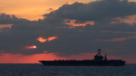Der Flugzeugträger der U.S. Navy USS John C. Stennis (Symbolbild)