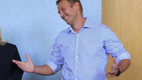 Russischer Oppositionsführer Alexej Navalny. 1. Juli 2019 (Archivbild)