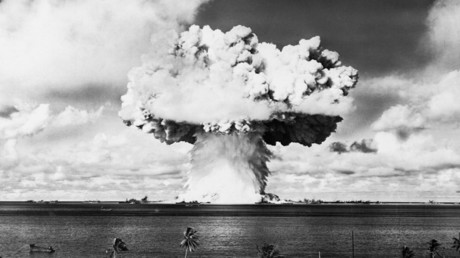 Archivbild eines US-Atomwaffentests.