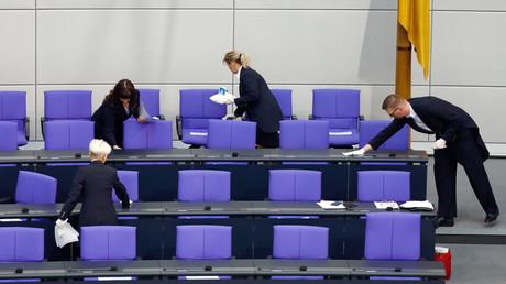 Archivbild: Die Regierungsbank – seit Neuestem im Blick der Partei Die Linke?