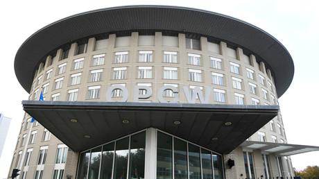 Der Sitz der Organisation für das Verbot chemischer Waffen (OPCW) in Den Haag