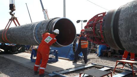 Nord Stream 2: Durch diese Röhren soll das Erdgas strömen.
