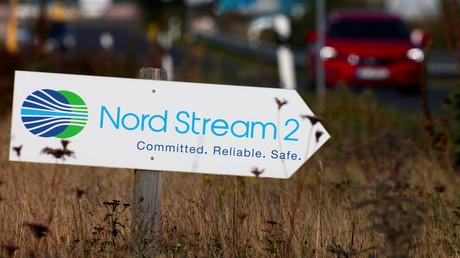 Bau der Pipeline Nord Stream 2 in Lubmin (Symbolbild)