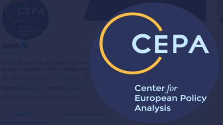 Screenshot der offiziellen CEPA-Konto-Seite auf Twitter.