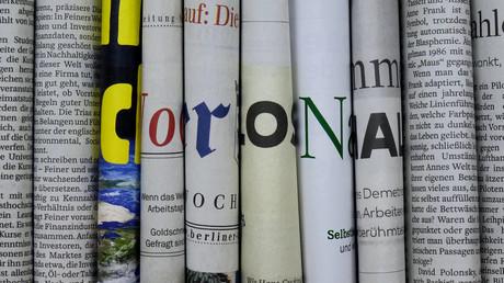 Oft bemüht, die Gefährlichkeit des Coronavirus herauszustellen: die Medienlandschaft in Deutschland (Symbolbild)