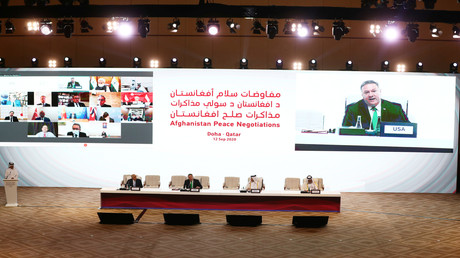 In Doha finden innerafghanische Gespräche statt. (12. September 2020)