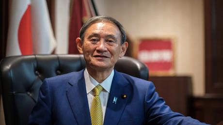 Yoshihide Suga in Tokio am 14. September 2020