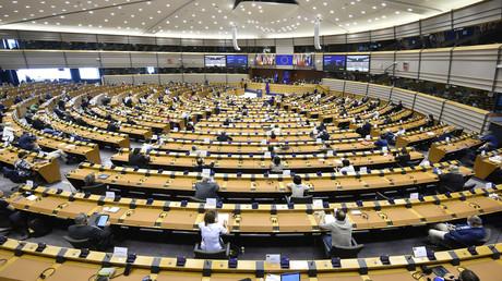 Das EU-Parlament in Brüssel am 16. September.