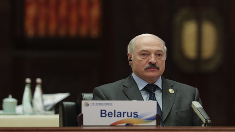15. Mai 2017: Alexander Lukaschenko in Peking (Archivbild)