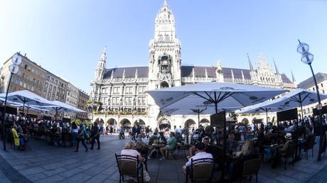 Der Münchner Marienplatz – auch hier soll die Maskenpflicht gelten.
