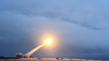 Erprobung des nuklearen Marschflugkörpers Burewestnik. (Symbolbild)