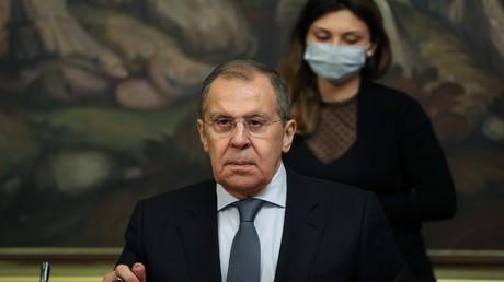 Der russische Außenminister Sergei Lawrow.