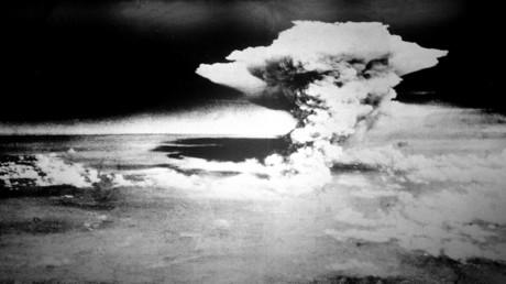 Pyrokumulus – die Feuersturmwolke, die die Stadt Hiroshima nach dem ersten Atombombenabwurf der USA am 6. August 1945 verschlang