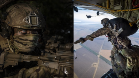 Großbritannien preist Militärübungen auf