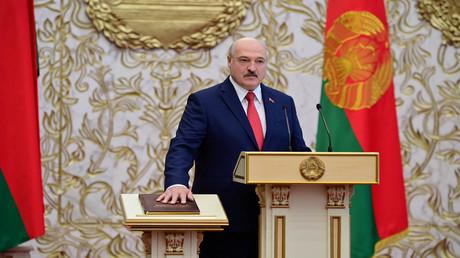 Die Amtseinführung des weißrussischen Präsidenten Alexander Lukaschenko (23. September, Minsk)