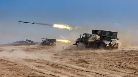 Die Militärübung Kaukasus-2020, die derzeit im Süden Russlands stattfindet.