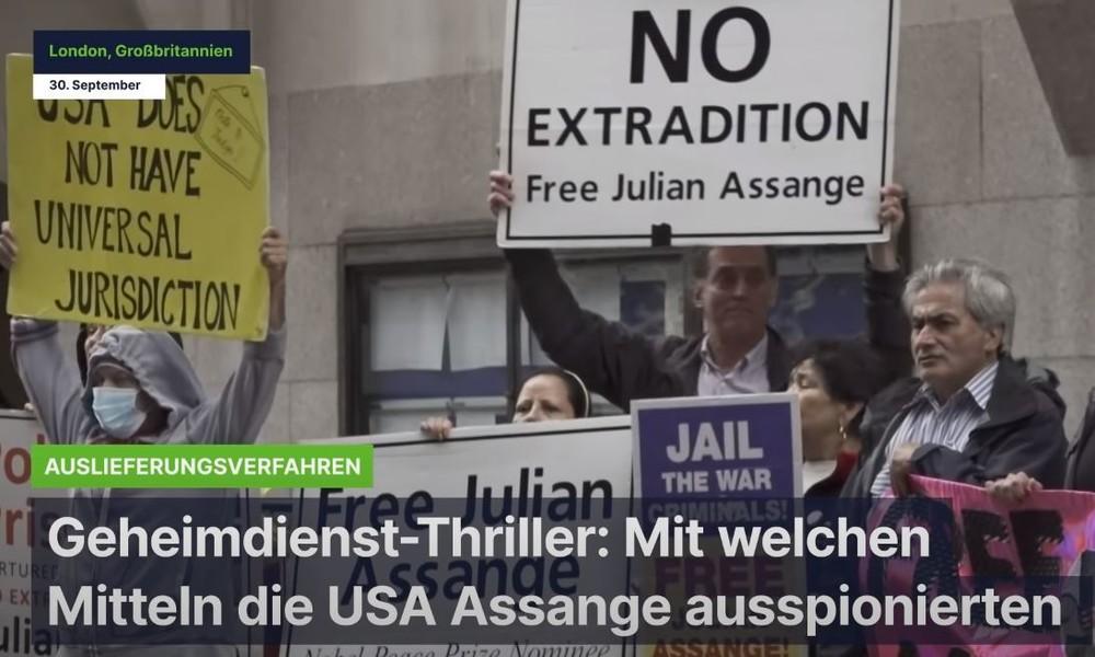 Geheimdienst-Thriller: Mit welchen Mitteln die USA WikiLeaks-Gründer Assange ausspionierten