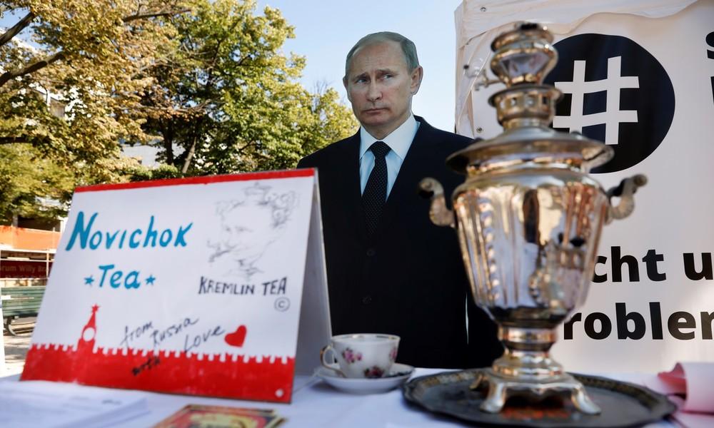 Kreml reagiert auf Nawalnys Vergiftungsvorwürfe gegen den russischen Präsidenten