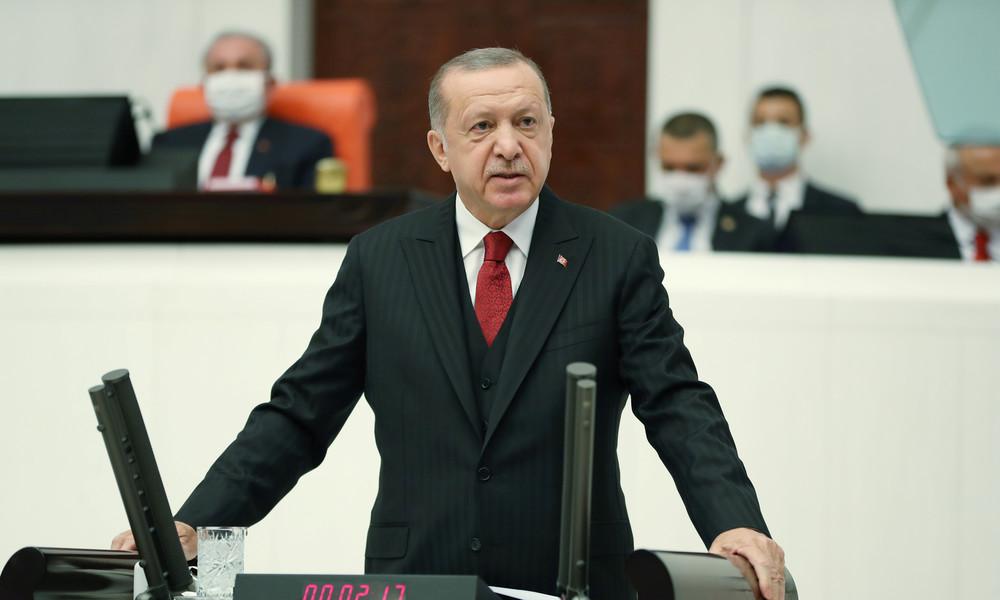 Erdoğan zum Bergkarabach-Konflikt: Keine Lösung möglich ohne Abzug armenischer Truppen