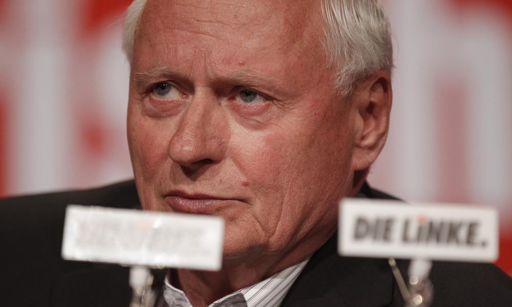 """Lafontaine nach Kritik an Sarrazin-Treffen: """"Schaum vorm Mund ersetzt keine Diskussion"""""""