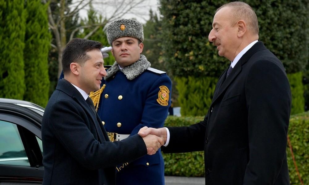 Bergkarabach-Konflikt: Ukraine bietet Aserbaidschan militärische Hilfe an