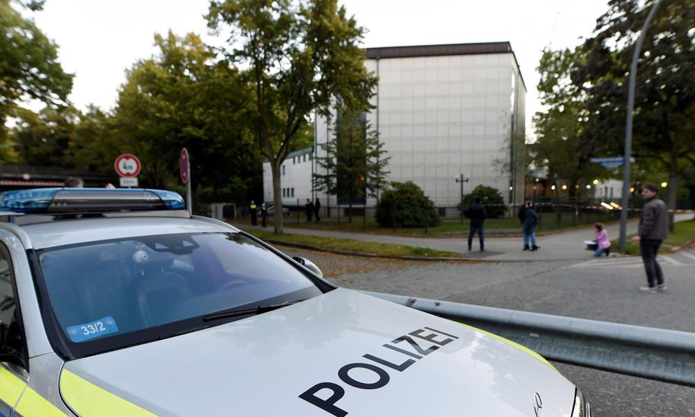 Hamburg: Uniformierter Täter attackiert jüdischen Studenten vor Synagoge mit Schaufel
