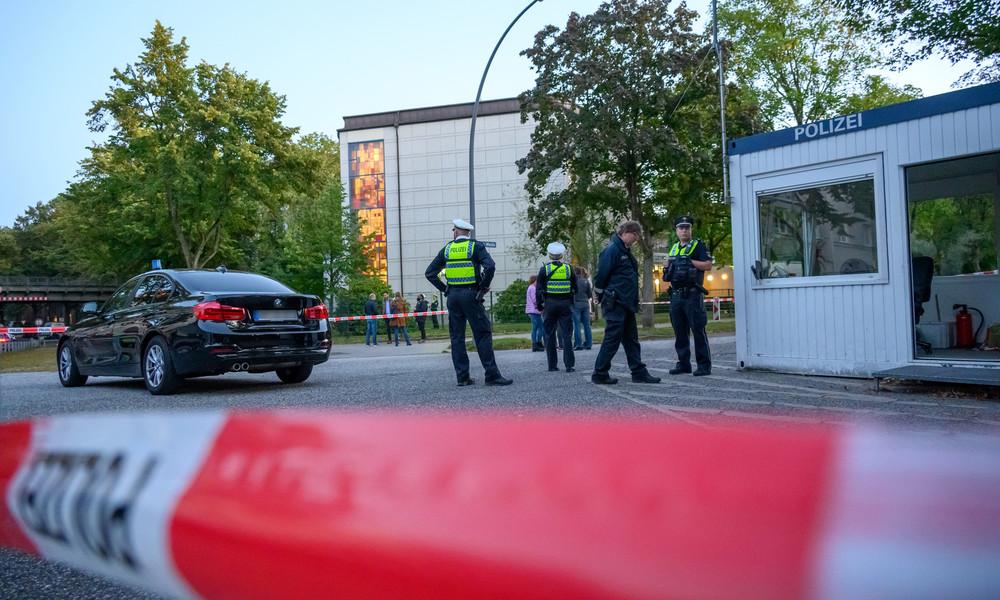 """Angriff vor Hamburger Synagoge nach ersten Erkenntnissen """"versuchter Mord"""" – Staatsschutz ermittelt"""