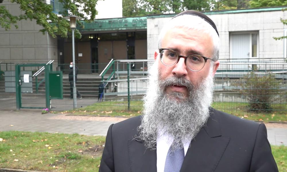 Gemeindemitglieder und Anwohner äußern sich zum Angriff vor Synagoge in Hamburg (Video)