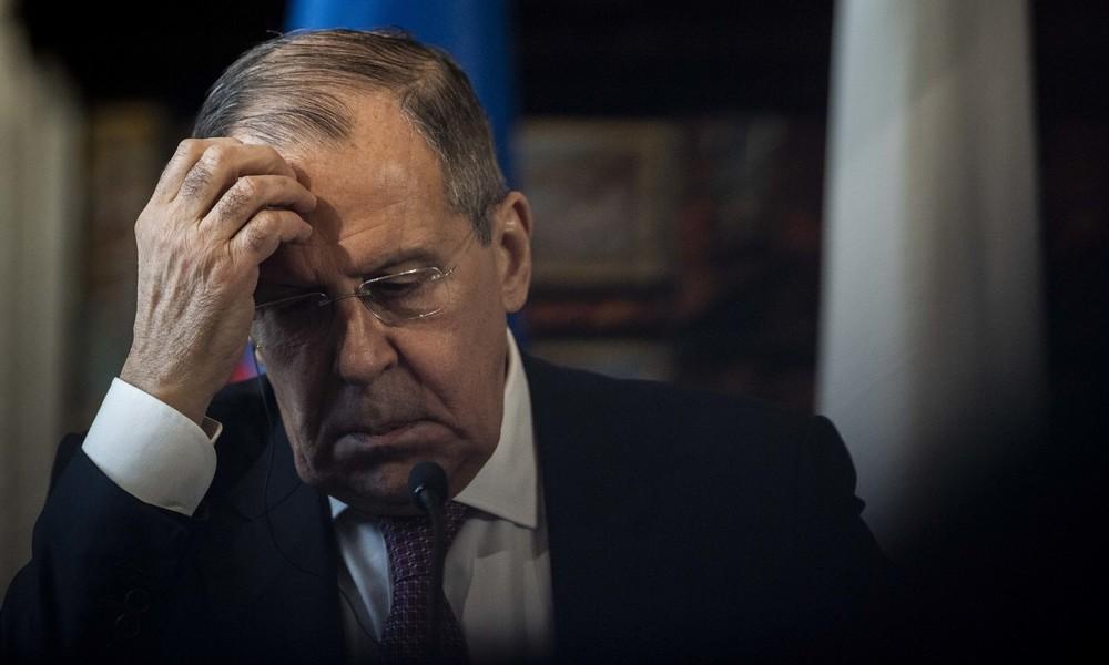 Lawrow: Ermittlungen im Fall Nawalny sind Verhöhnung des gesunden Menschenverstandes
