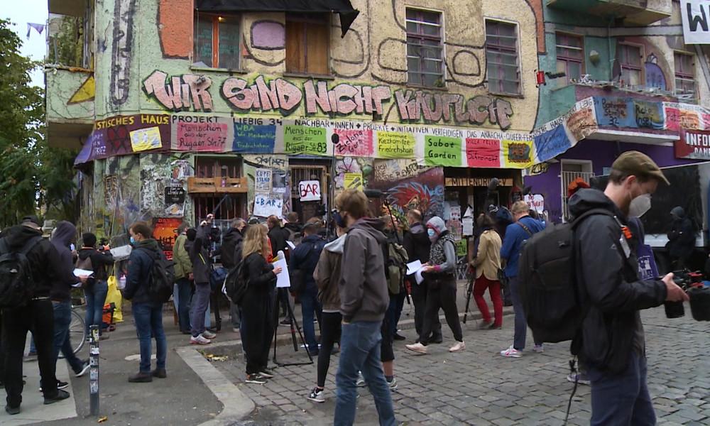 Linksextremes Hausprojekt in Berlin vor der Räumung – Krawalle befürchtet
