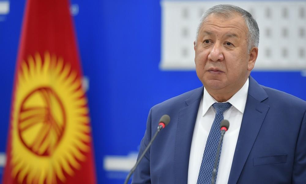 Unruhen in Kirgistan - Demonstranten befreien Ex-Regierungschef Atambayew