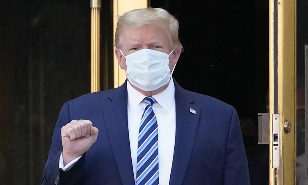 Trump nach seiner COVID-Erkrankung: Grippewelle ist gefährlicher als Corona