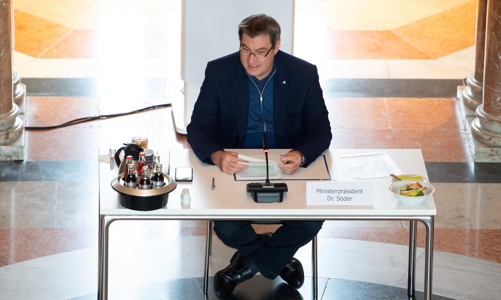 """Söder kritisiert """"seltsames System"""" in Berlin und warnt vor Kontrollverlust"""