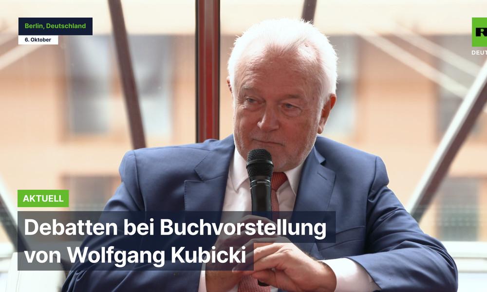 "Bundestagsvizepräsident Wolfgang Kubicki über ""Meinungsunfreiheit"""