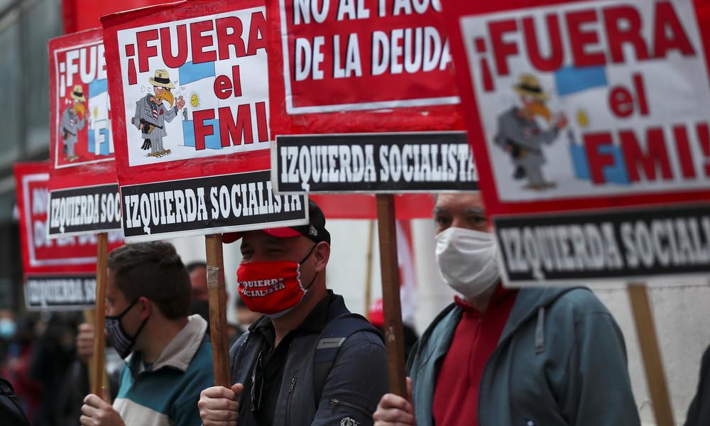 Buenos Aires: Tausende protestieren gegen den IWF (Video)