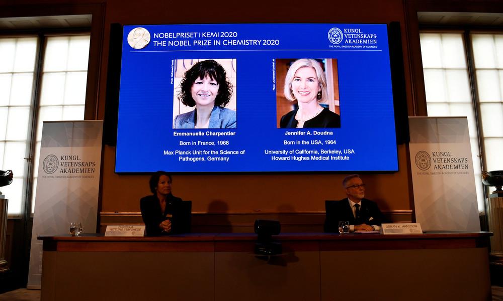 Genforscherinnen Charpentier und Doudna mit Chemie-Nobelpreis geehrt
