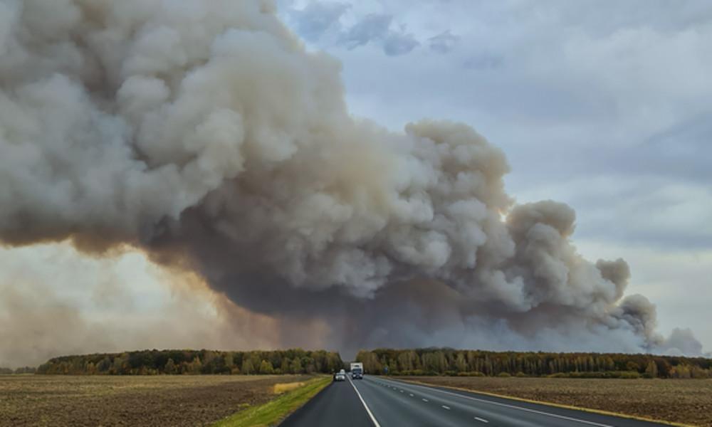Feuer in russischem Munitionslager: Über 2.300 Menschen evakuiert