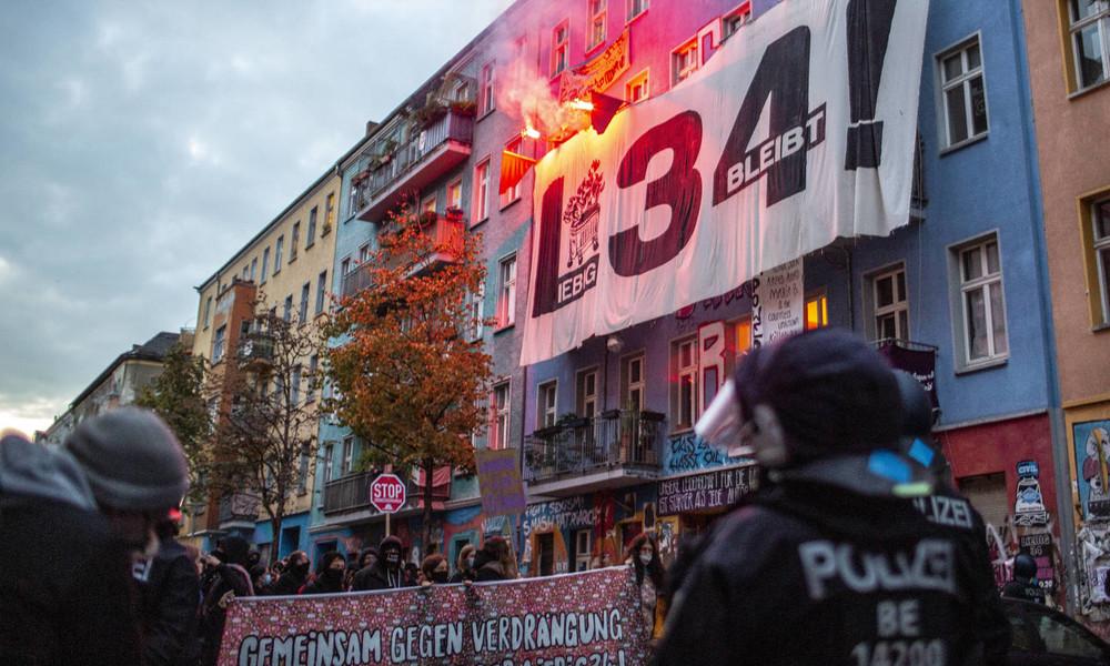 """Linksradikales Kultprojekt """"Liebig34"""": Linke fordert Aussetzung der Räumung wegen """"Hygieneregeln"""""""