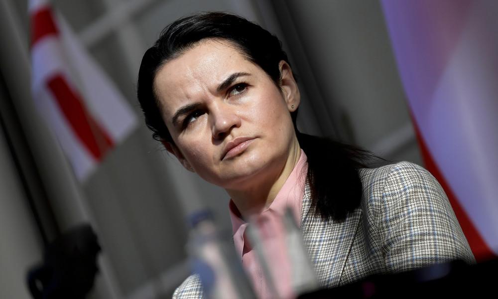 Unbekannter gibt sich bei Onlinetreffen mit dänischem Parlament für Swetlana Tichanowskaja aus