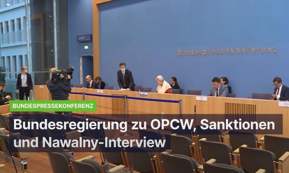 """Regierung verweigert weiterhin Antworten zur angeblichen """"Nowitschok-Flasche"""" in deutschem Besitz"""