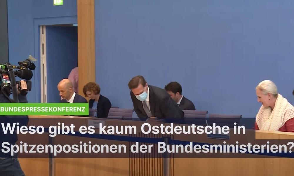 Für Bundesregierung kein Problem: Fast keine Ostdeutschen in Spitzenpositionen der Bundesministerien